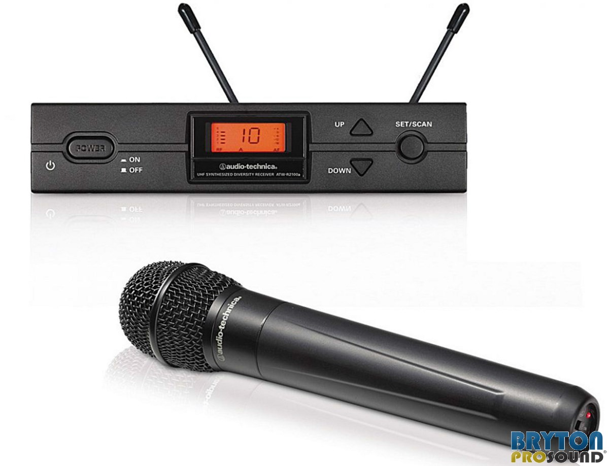 Wireless Microphone Audio Technica Atw R2100 Wire Center Details For Painless Wiring 80512 Heavy Duty Toggle Switch On Off 2120a Handheld System Rh Brytonpro Com
