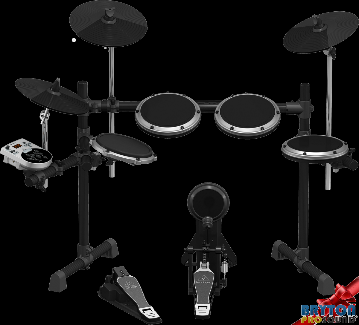 Behringer Xd8usb 8 Piece Electronic Drum Set With Sound Module Drums 1