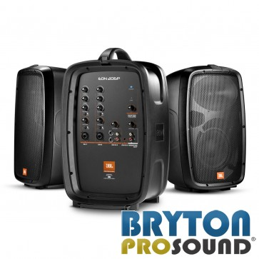 JBL EON206P 160W Compact All-in-one PA System with 6-Channel Mixer