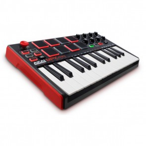 Akai Professional MPK Mini V2 Compact Keyboard and Pad Controller