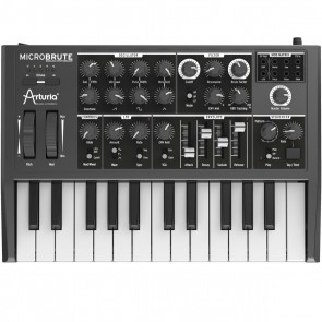 Arturia MicroBrute 25-mini-key Monophonic Analog Synthesizer