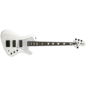 ESP E-II STREAM Electric Bass Guitar in Snow White Finish, EIISTREAMSW