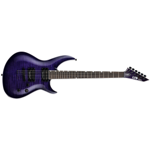 ESP LTD H3-1000 FM See-thru Purple Sunburst Seymour Duncan Electric Guitar(LH31000FMSTPSB)