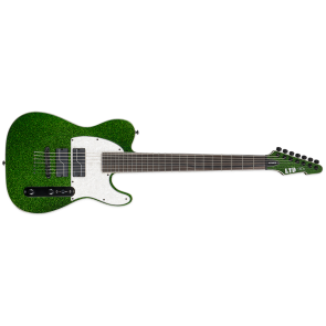 ESP LTD SCT-607 Steven Carpenter 7-string BARITONE GREEN SPARKLE Electric Guitar(LSCT607BGSP)