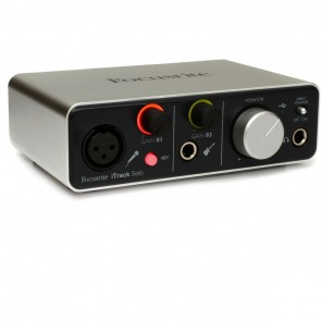 Focusrite iTrack Solo 2 in/2 out USB Audio Interface for iPad