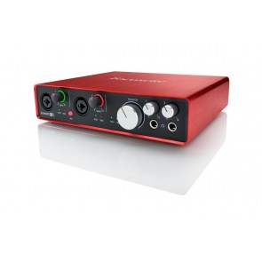 Focusrite Scarlett 6i6 (2nd Gen) 6-in/6-out USB Audio Interface with Pro Tools First