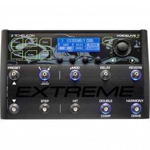 TC Helicon VoiceLive 3 Extreme Vocal and Guitar FX Pedal