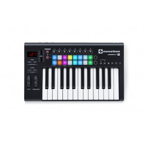 Novation Launchkey 25 V2 RGB 25-key USB/iOS MIDI Keyboard Controller