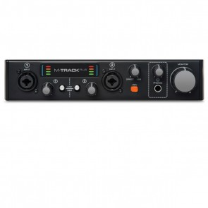 M-Audio M-Track Plus II 2-Channel USB Audio Recording Interface
