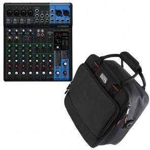 Yamaha MG10XU Analog 10-Channel Mixer + Gator Rugged Bag - BRAND NEW BUNDLE