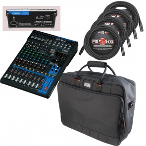 Yamaha MG12XU ** ESSENTIALS BUNDLE ** Includes Bag & Pro Cables NEW!!