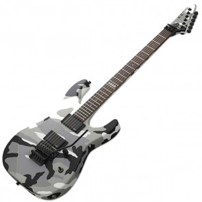 ESP E-II M-II Neck-thru Urban Camo (EIIMIINTUC) Electric Guitar