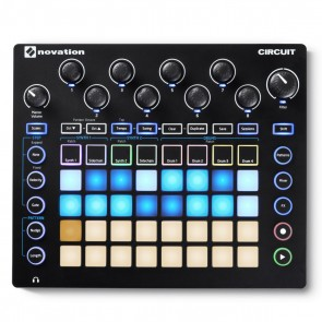 Novation Circuit Portable Synthesizer Workstation and Drum Machine