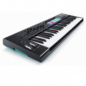 Novation LaunchKey 49 V2 RGB 49-Key USB/iOS MIDI Keyboard Controller