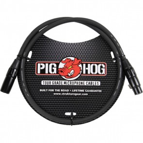 Strukture Pig Hog 10 foot XLR-F to XLR-M Microphone Cable PHM10