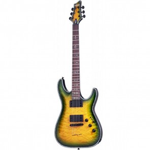 Schecter Hellraiser C-1 Passive Electric Guitar - Dragon Burst