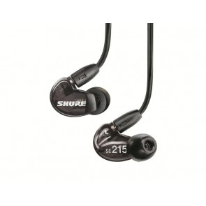 [Open-box] Shure SE215 Black Single-driver In-ear Monitors with Detachable Cable