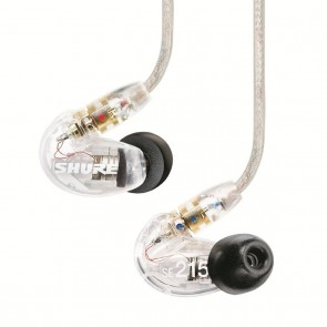 [Open-box] Shure SE215 Clear Single-driver In-ear Monitors with Detachable Cable