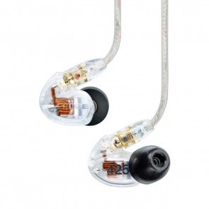 [Open-box] Shure SE425 Clear Dual-driver Sound-isolating Earphones