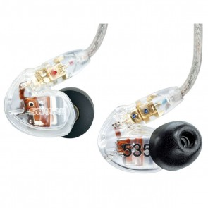 [Open-box] Shure SE535 Clear Triple-driver Sound Isolating Earphones