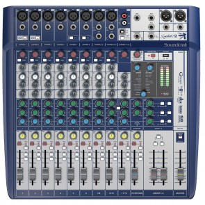 Soundcraft Signature 12 12-Channel Compact Analog Mixer with Effects