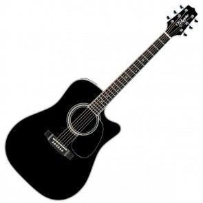 Takamine EF341SC Dreadnought Acoustic-Electric Guitar w/Cutaway