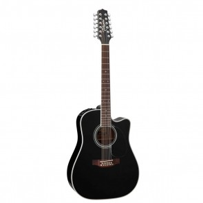Takamine EF381SC 12-String Acoustic/Electric Guitar - Single-Cutaway