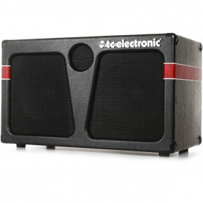 "TC Electronic K-210 2x10 400W Bass Cabinet with 1"" HF Driver"