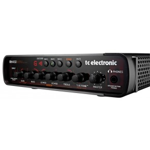 TC Electronic RH450 Compact Bass Guitar Amplifier Head - 450 Watts