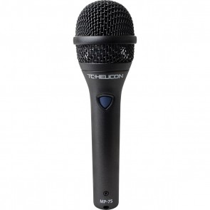 TC Helicon MP-75 Modern Performance Vocal Microphone with Mic Control