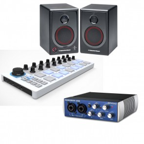 Cerwin-Vega XD4 + Presonus AudioBox USB + Arturia BeatStep *PRODUCER BUNDLE*