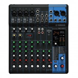 Yamaha MG10XU 10-Channel Analog Mixer with EQ and Digital Effects
