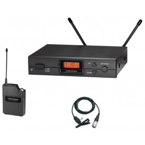 Audio-Technica ATW-2129a D-band Wireless Lavalier Microphone System