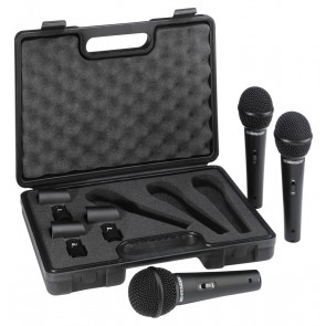 Behringer XM1800S Set of 3 Dynamic Microphones