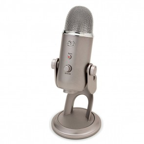Blue Yeti Platinum Ultimate USB Microphone for Professional Recording