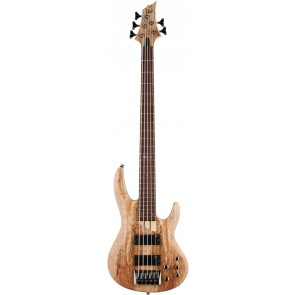 ESP LTD B-205 SMNS Spalted Maple 5 String Electric Bass (LB205SMNS)
