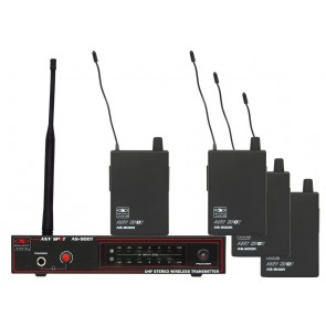 Galaxy Audio AS-900-4 K7 Wireless In-Ear Monitor Band Pack System