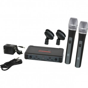 Galaxy ECDR/HH38L Wireless Microphone System