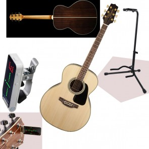 Takamine GN51 Acoustic with Spruce Top Mahogany Neck + FREE TUNER, STRAP & STAND