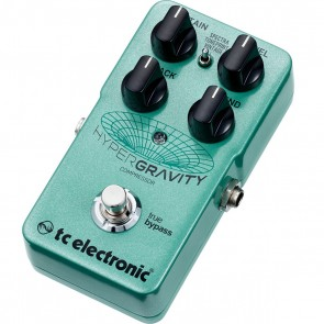 TC Electronic HyperGravity Compressor Effects Pedal with TonePrint