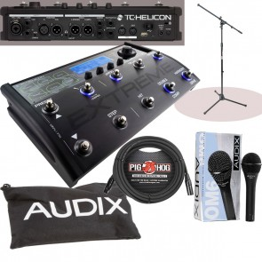 """The Voicelive 3 Extreme """"POWER BUNDLE"""" including OM6 mic with FREE Cable & Stand"""